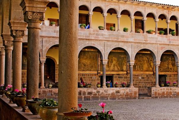 Iglesia de Santo Domingo in Coricancha, Cusco, Peru