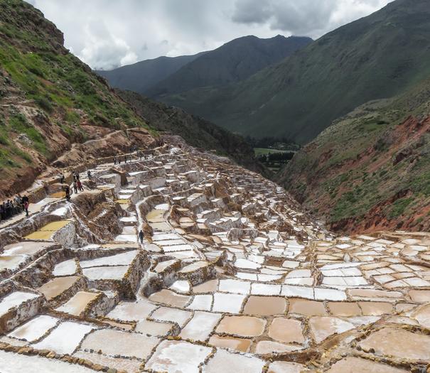 Maras Salt Terrace Sacred Valley Peru tour