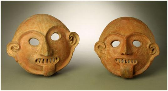 Exhibit at the Museum of Pre-Columbian Art in Cusco Peru