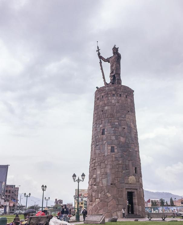 Pachacuteq Monument Cusco Peru