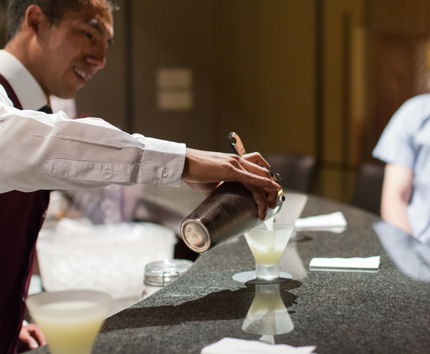 Pisco sour class at the Palacio del Inka Cusco Peru