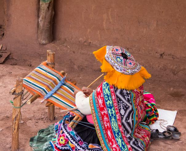 Quechuan Weaver Peru