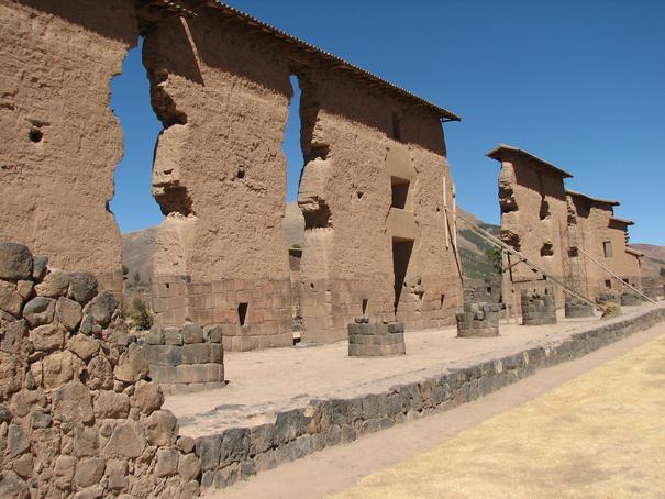 Raqchi Temple Cusco Peru