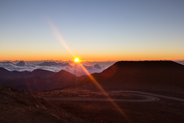 Sunrise at Haleakala National Park