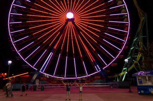 Cedar Point Sandusky Ohio Wheel