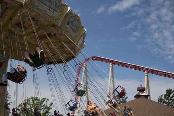 Cedar Point Swings