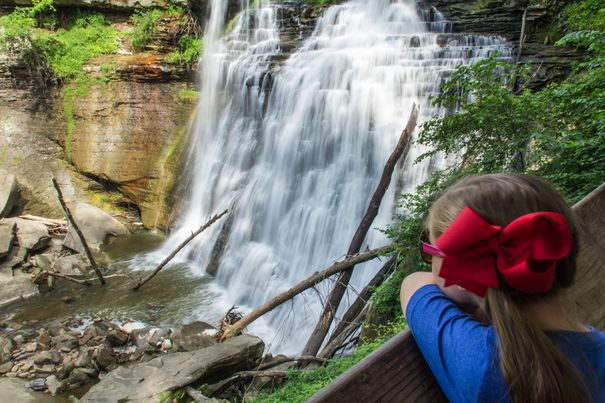 Brandywine Falls - Cuyahoga Valley National Park.