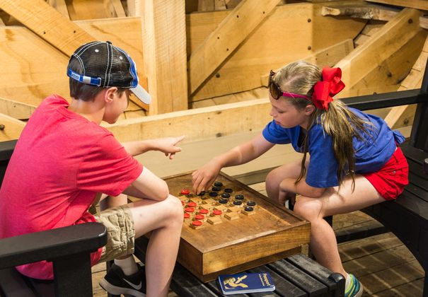 Chess at Cuyahoga Valley National Park Visitor Center