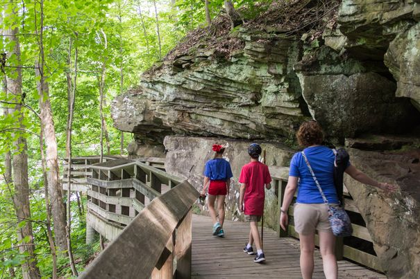 Cuyahoga Valley National Park hiking trails