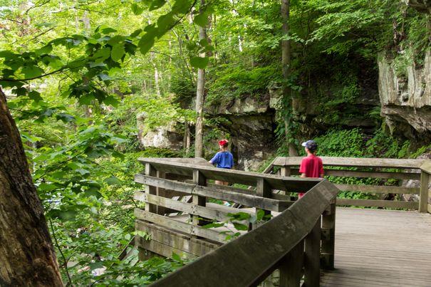 Hiking at Cuyahoga Valley National Park