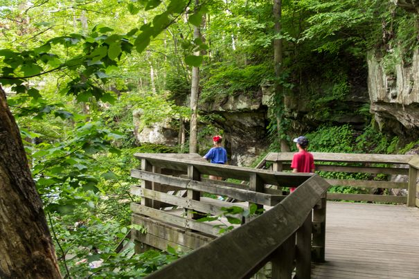 Hiking at Cuyahoga Valley National Park