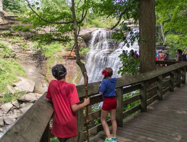 Brandywine Falls - Cuyahoga Valley National Park.