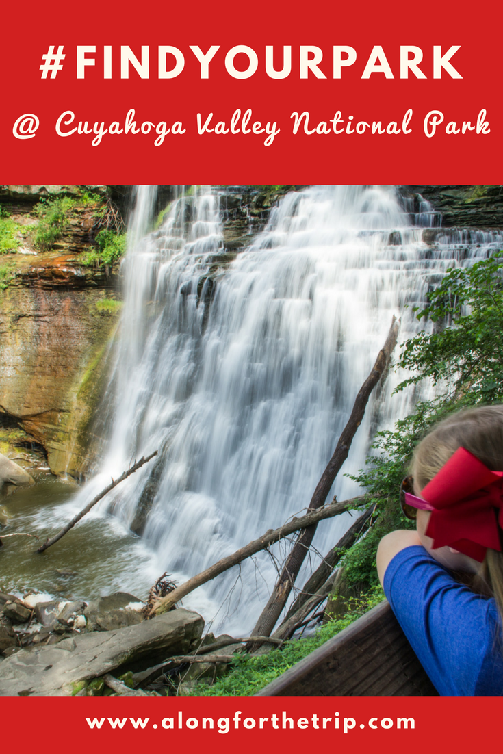 Cuyahoga Valley National Park is a little gem near Cleveland, OH with great hiking, gorgeous waterfalls, and a scenic railroad you won't find anywhere else. #FindYourPark at #Cuyahoga Valley National Park! #familytravel #nationalparks