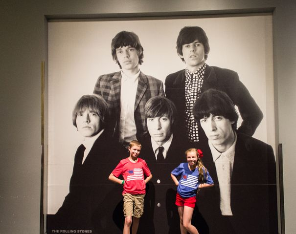 Rock and Roll Hall of Fame Rolling Stones