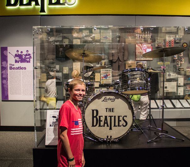 Rock Hall Ringo Starr Beatles Drums