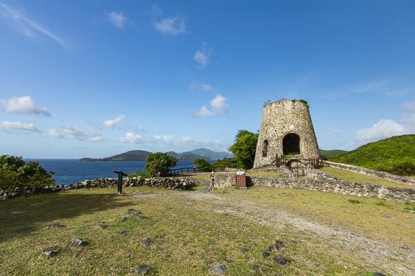 Anaberg sugar plantation Virgin Islands National Park