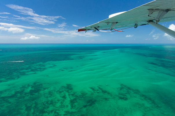 Half the fun is arriving to Dry Tortugas National Park by seaplane!