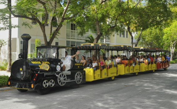 best things to do in Key West with kids - take the Conch Train Tour