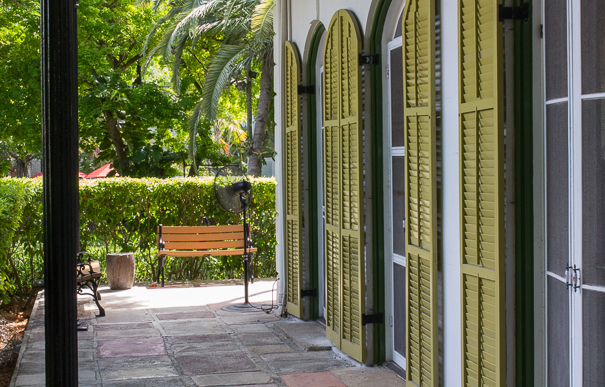 Key West attractions for kids - tour the Hemingway House Key West