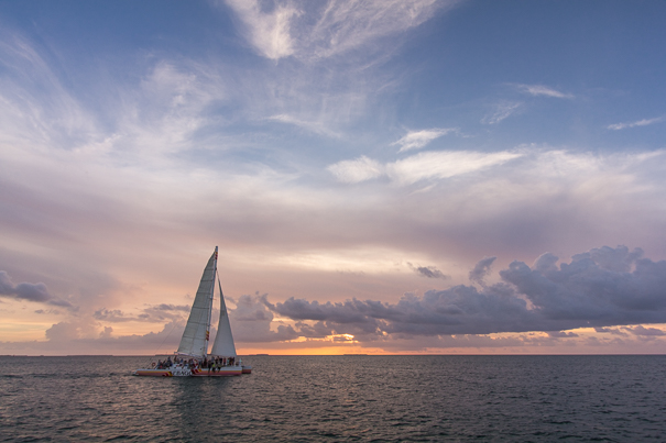 Key West attractions for families - sunset cruise