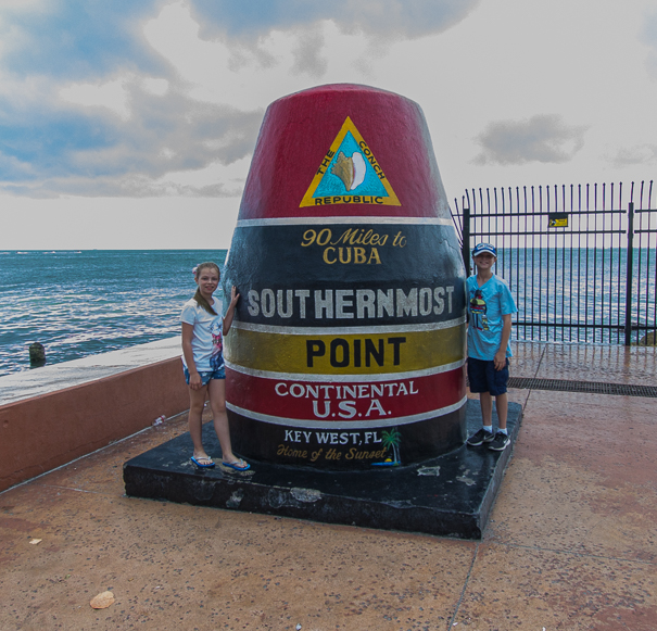 Key West Florida Southernmost Point - kids activities in Key West