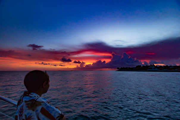 Things to do in Key West with family - sunset cruises.