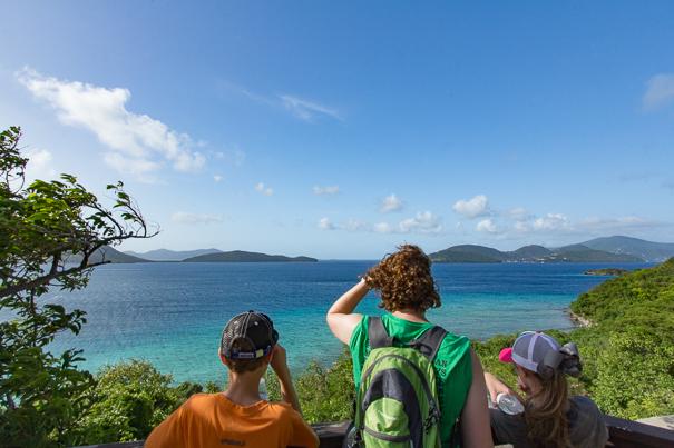 Views from Virgin Islands National Park