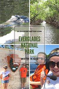 Visiting the Everglades National Park with kids