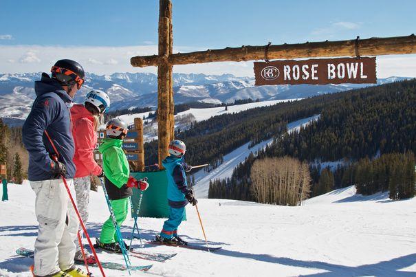 best snow ski resorts for families - Beaver Creek CO
