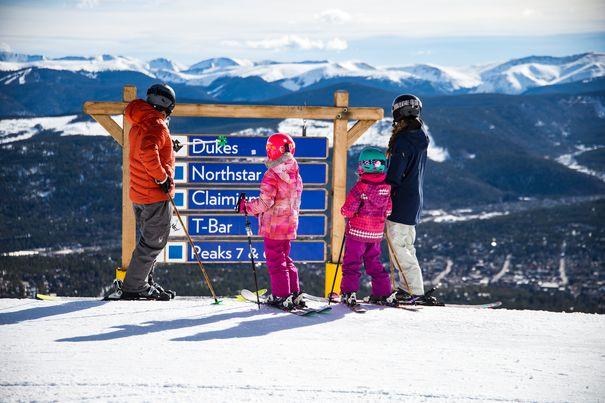 Breckenridge Resort-best ski resorts for beginners and families