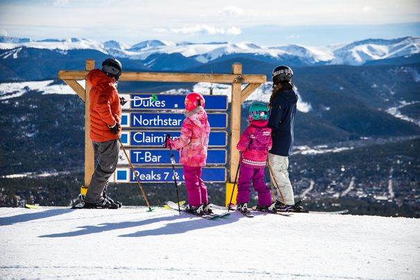 Breckenridge Resort-best ski resorts for beginners and families