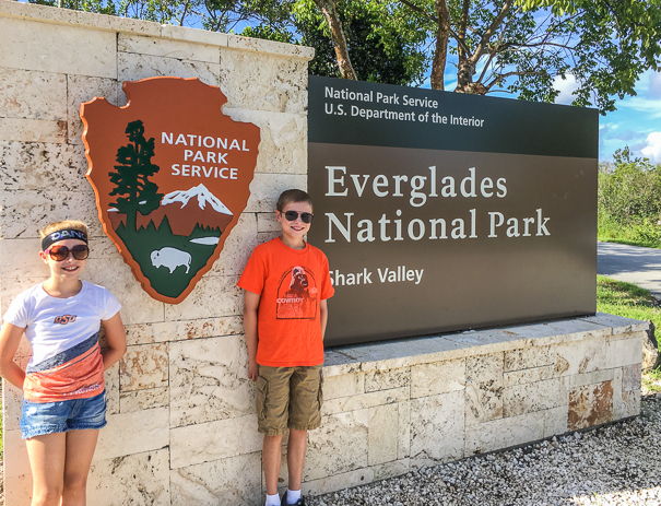 Visiting the Everglades with kids