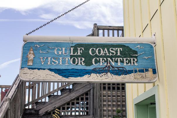 Gulf Coast Visitor center - visiting Everglades National Park