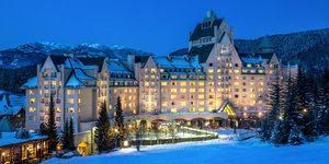 Fairmont Whistler - Best Whistler family hotels