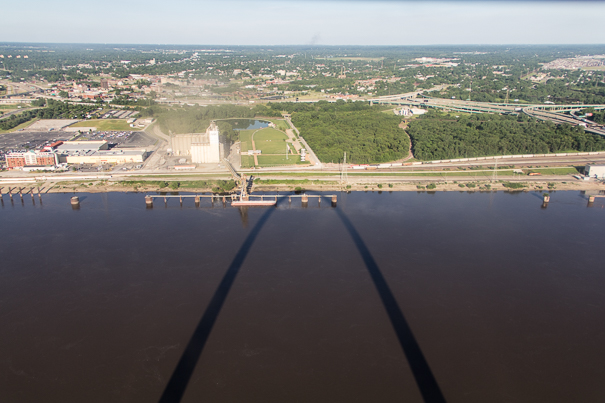 Gateway Arch on the Mississippi River