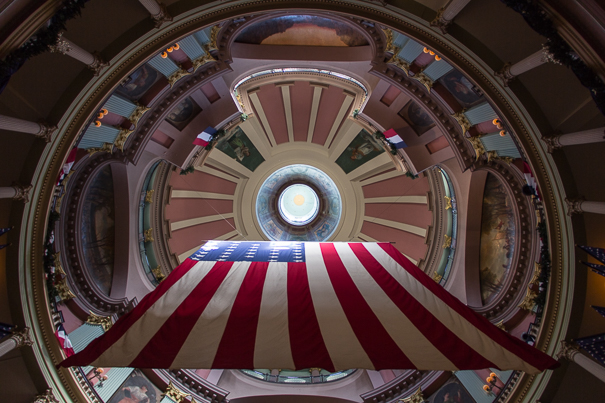 Dome of the Old Courthouse - Jefferson National Expansion Memorial