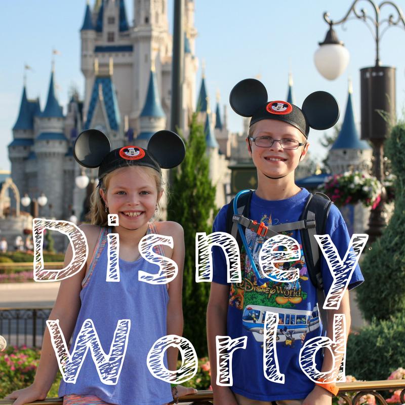 Walt Disney World with kids