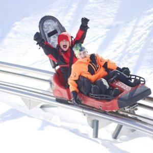 Timber Ripper Mountain Coaster at Okemo Resort