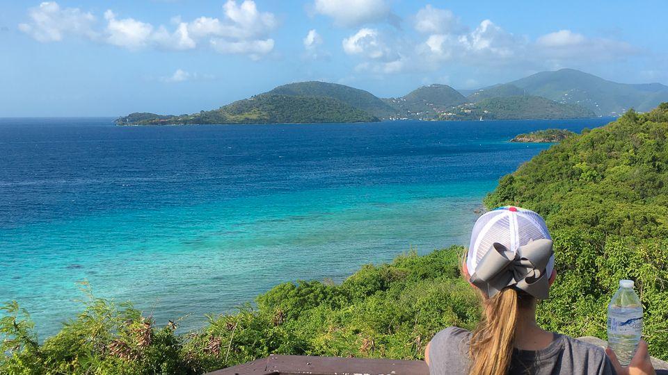Virgin Islands National Park with kids
