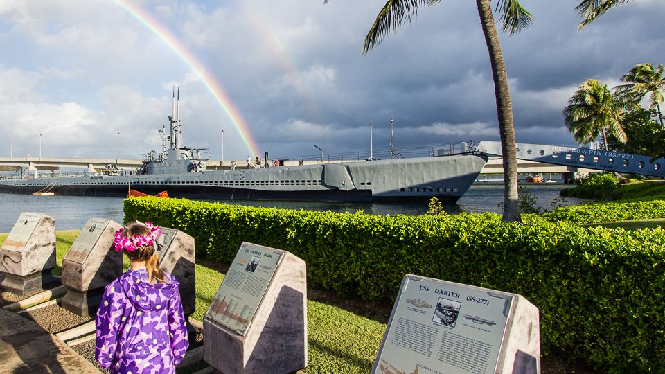 WWII Valor in the Pacific National Park with kids