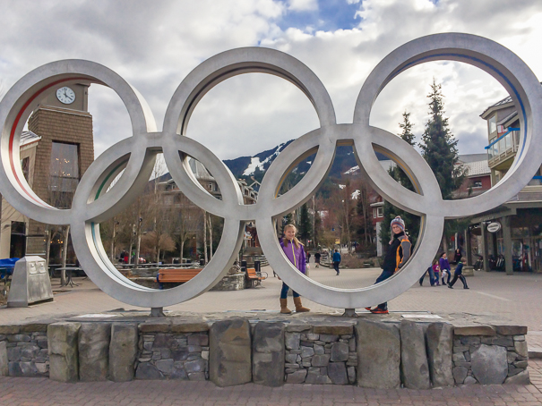 Whistler Blackcomb Resort Olympic Rings - Whistler kids ski free