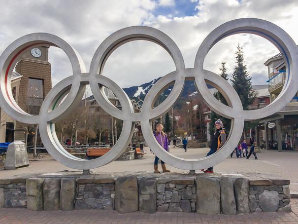 Whistler Blackcomb Resort Olympic Rings - Whistler kids ski free