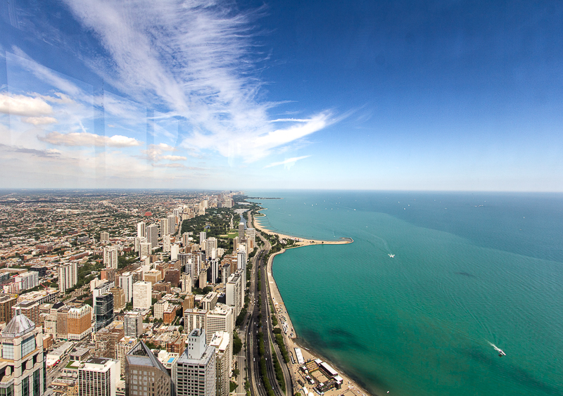 Testing our digital camera for travel at Chicago360