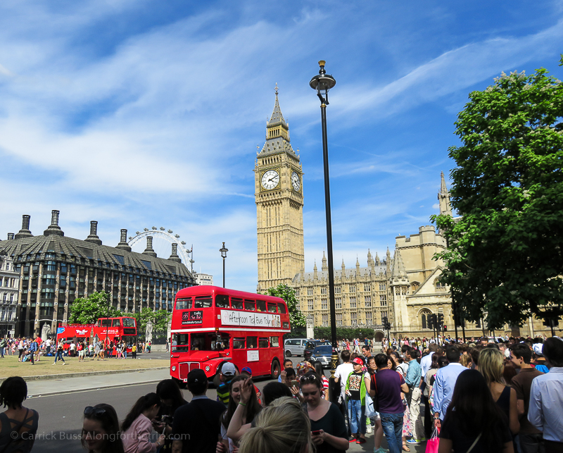 Photographing London with the best travel cameras