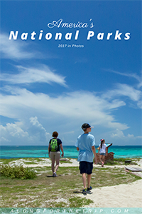 2017 National Parks with kids in pictures
