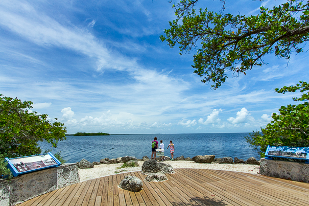 Looking out across Biscayne Bay - Biscayne National Park