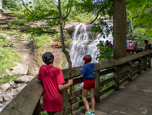 Cuyahoga Valley National Park with kids
