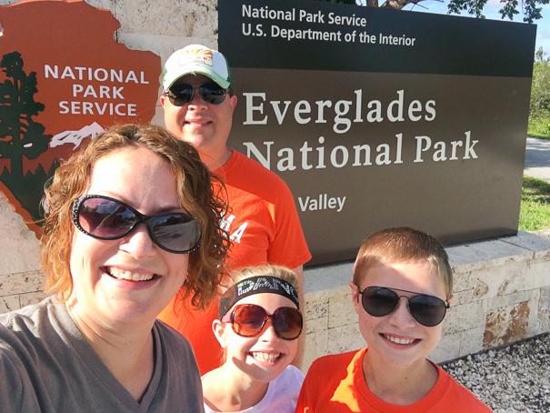Entrance to Everglades National Park