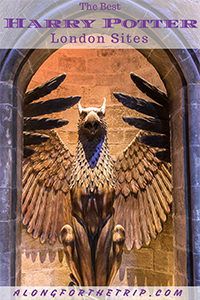 Visiting the best Harry Potter London sites