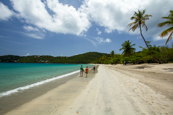 Magens Bay Beach St. Thomas USVI